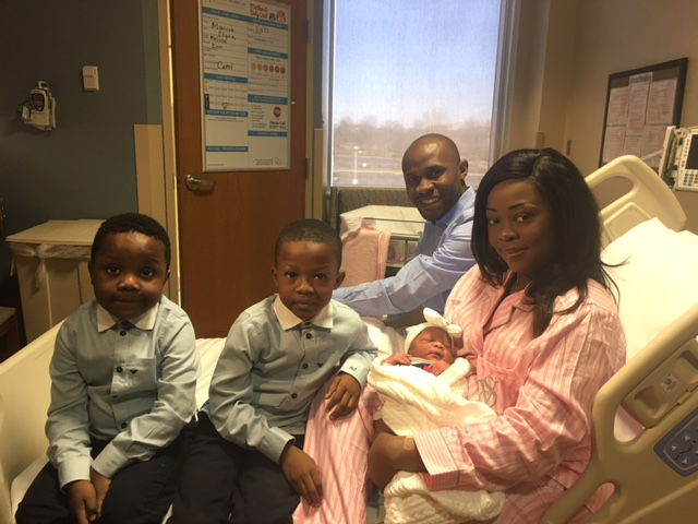 Shady Grove Medical Center Welcomes Its First Baby of 2017