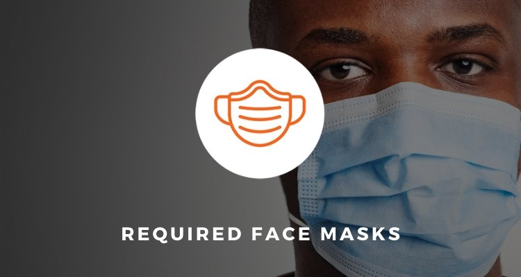 Required Face Masks