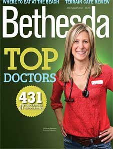 Bethesda Magazine Top Doctors