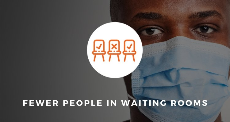 Fewer People in Waiting Rooms
