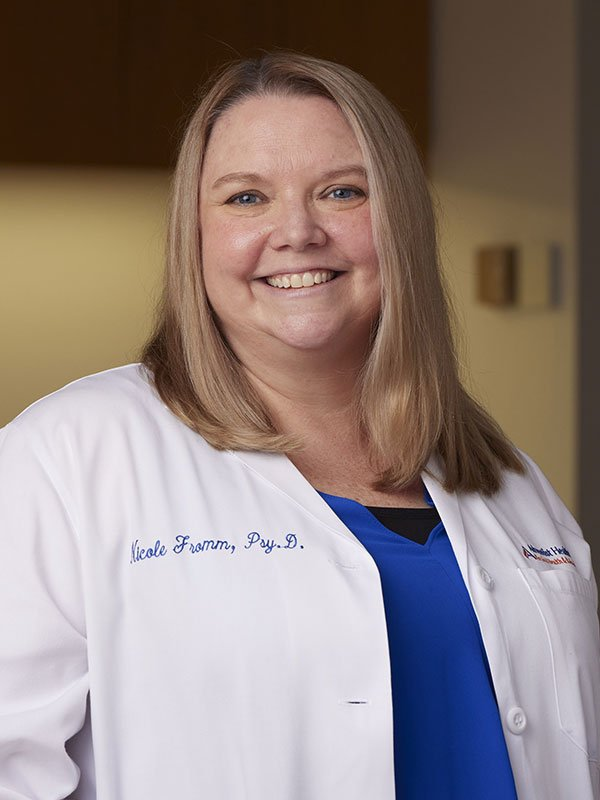 Dr Nicole Fromm Psyd Physical Medicine